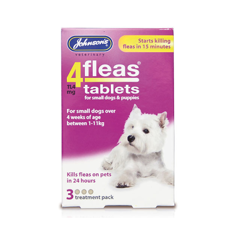 Johnsons 4 Fleas Tablets