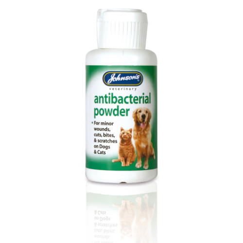 Johnsons Anti Bacterial Powder for Cats & Dogs