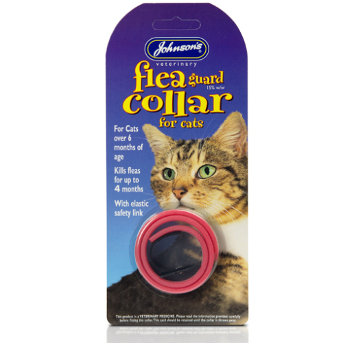 Johnsons Plastic Flea Cat Collar
