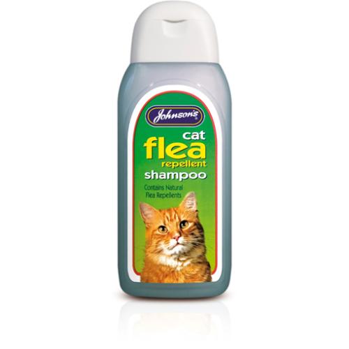 Johnsons Cat Flea Cleansing Shampoo