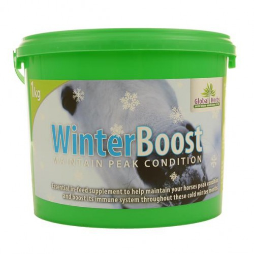 Global Herbs WinterBoost Horse Supplement