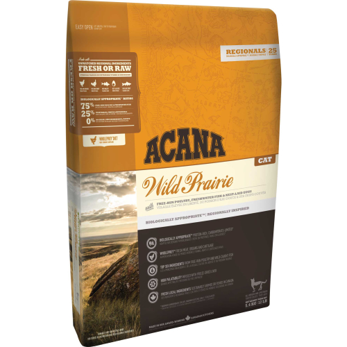 Acana Wild Prairie Cat & Kitten Food 340g Trial Size