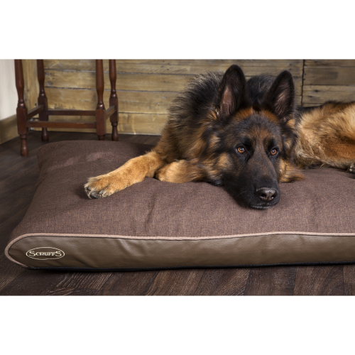 Scruffs Hilton Memory Foam Orthopaedic Mattress Dog Bed Brown
