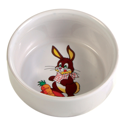 Trixie Ceramic Rabbit Bowl