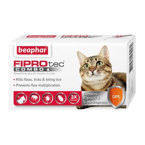 Beaphar FIPROtec Combo Spot on For Cats