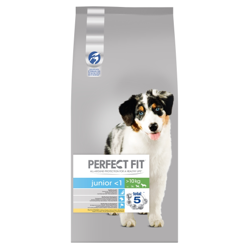 perfect fit chicken dry junior puppy food from. Black Bedroom Furniture Sets. Home Design Ideas