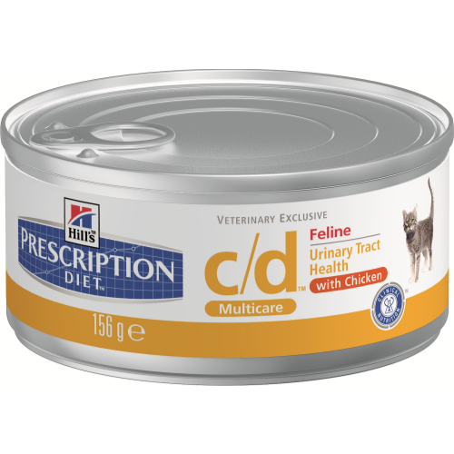 Hills Prescription Diet Feline CD Multicare Canned Chicken 156g x 24