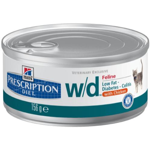Hills Prescription Diet Feline WD Canned 156g x 24
