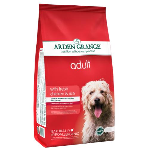 Arden Grange Chicken & Rice Adult Dog Food 12kg