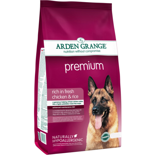 Arden Grange Chicken & Rice Premium Dog Food 12kg
