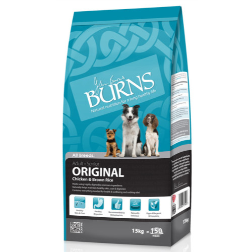 Burns Original Chicken & Brown Rice Adult & Senior Dog Food