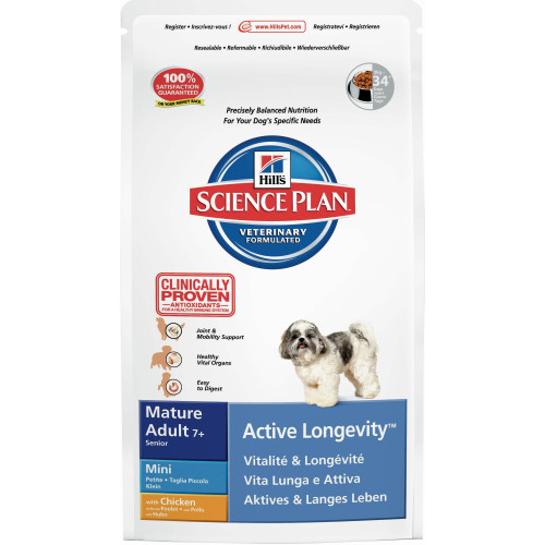 Hills Science Plan Canine Mature Adult 7 Active Longevity