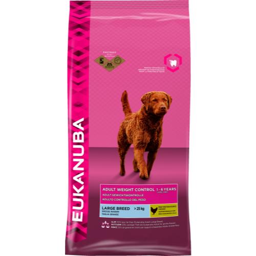 Eukanuba Weight Control Large Breed Adult Dog Food 12kg