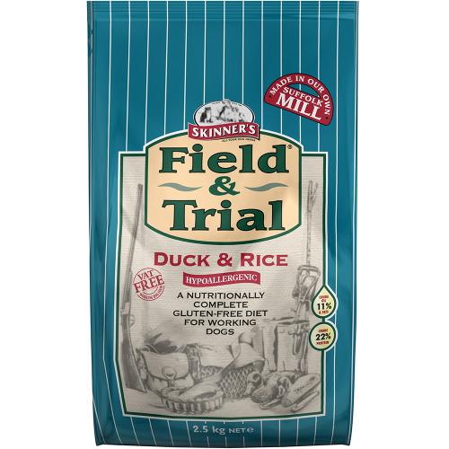 Skinners Field & Trial Duck & Rice Adult Dog Food 2.5kg