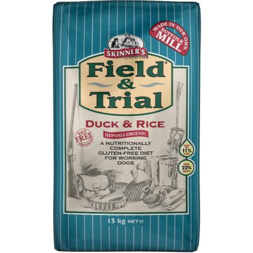 Skinners Field & Trial Duck & Rice Adult Dog Food 15kg