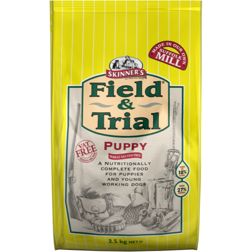 Skinners Field & Trial Chicken Puppy Food 2.5kg