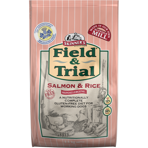 Skinners Field & Trial Salmon & Rice Adult Dog Food 2.5kg