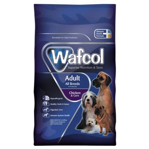 Wafcol Chicken & Corn Adult Dog Food 12kg