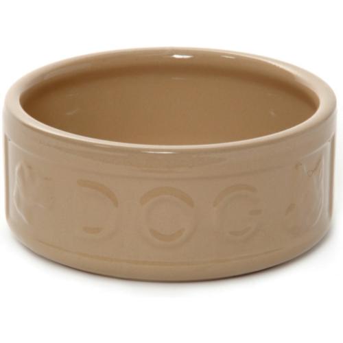 Mason Cash Lettered Ceramic Dog Bowl 18cm