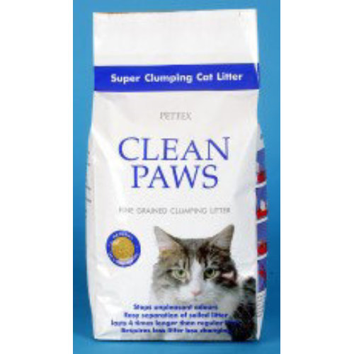 Pettex Clean Paws Super Clumping Cat Litter 5kg