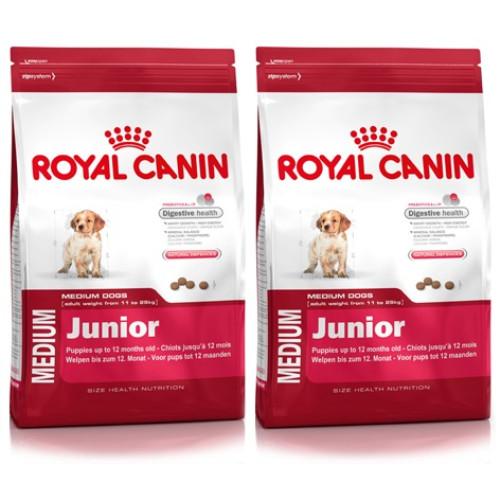 royal canin medium junior dog food from. Black Bedroom Furniture Sets. Home Design Ideas