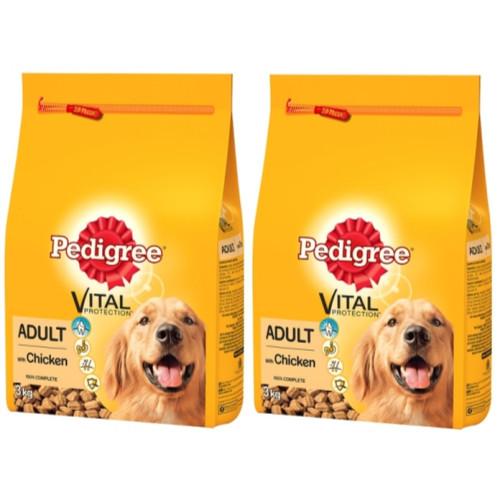 pedigree vital protection chicken vegetables adult dog food from waitrose pet. Black Bedroom Furniture Sets. Home Design Ideas