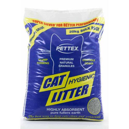 Pettex Premium Granules Cat Litter 20kg