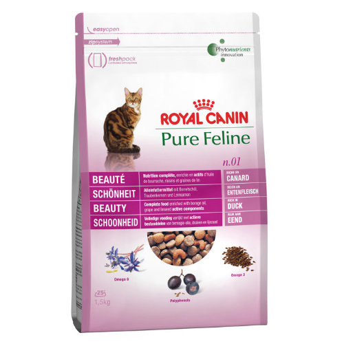 Royal Canin Pure Feline No 1 Beauty Adult Cat Food 300g
