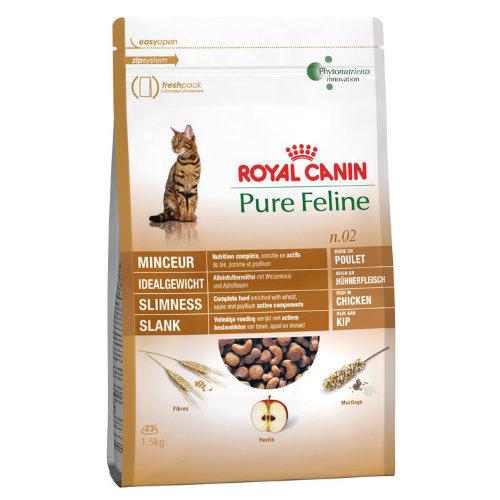 Royal Canin Pure Feline No 2 Slimness Adult Cat Food 1.5kg