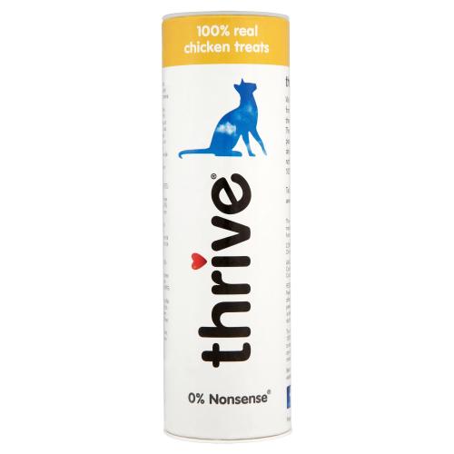 Thrive 100% Adult Cat Treats Chicken 25g x 12