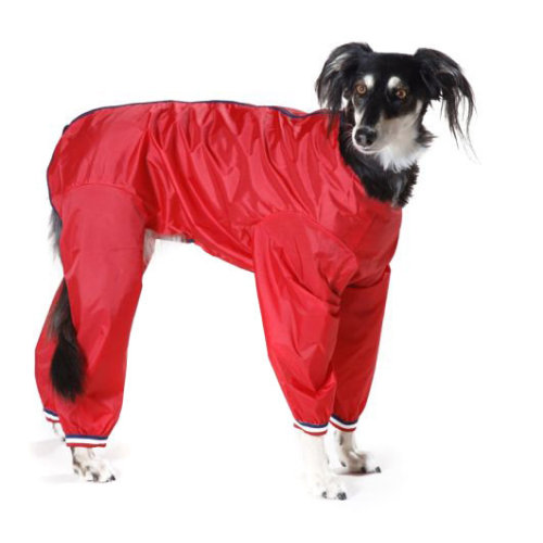 Cosipet Trouser Suit Dog Coat Red 41cm / 16