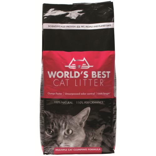 Worlds Best Cat Litter Extra Strength Clumping Formula 12.7kg
