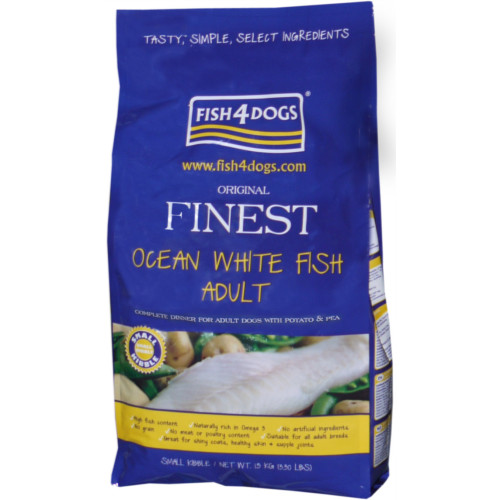 Fish4Dogs Finest Fish Small Bite Dog Food