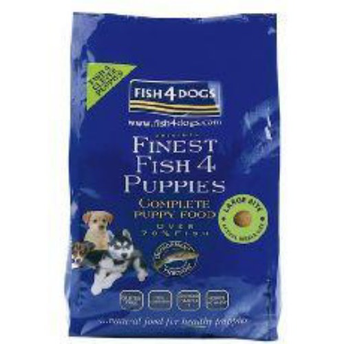 Fish4Dogs Finest Ocean Fish Large Bite Puppy Food