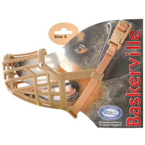 Baskerville Dog Muzzle Size 5