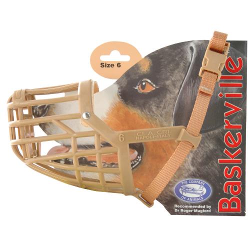 Baskerville Dog Muzzle Size 6