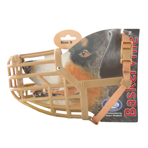 Baskerville Dog Muzzle Size 9