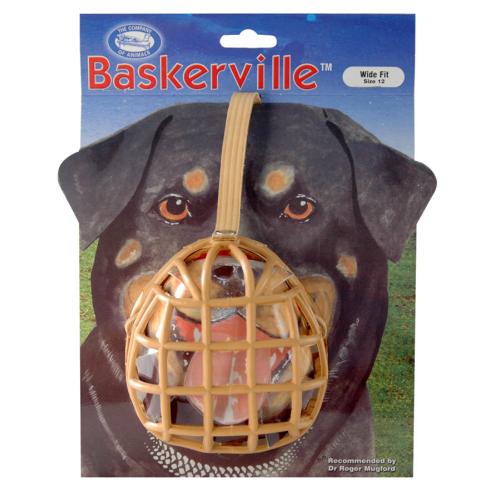 Baskerville Dog Muzzle Size 12