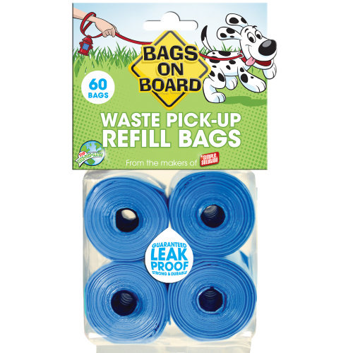 Bags On Board Blue Poop Bags