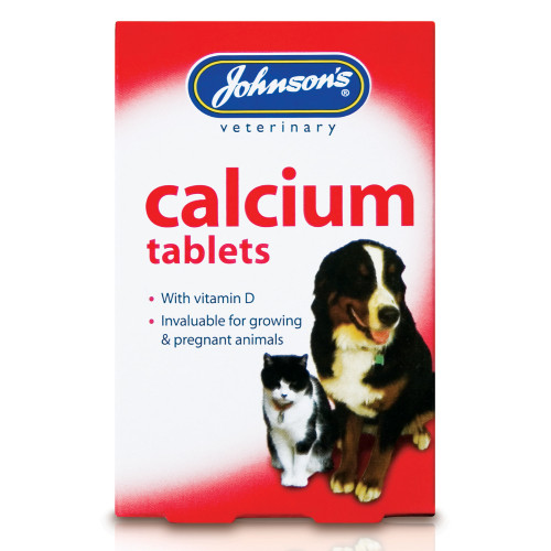 Johnsons Calcium & Vitamin D Tablets