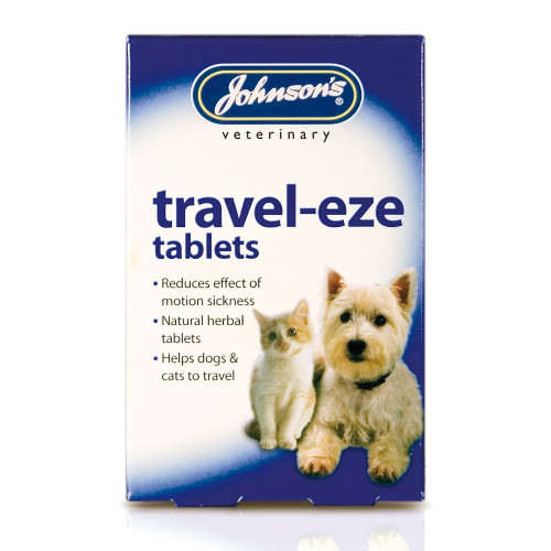 Johnsons Travel-eze Tablets For Dogs & Cats