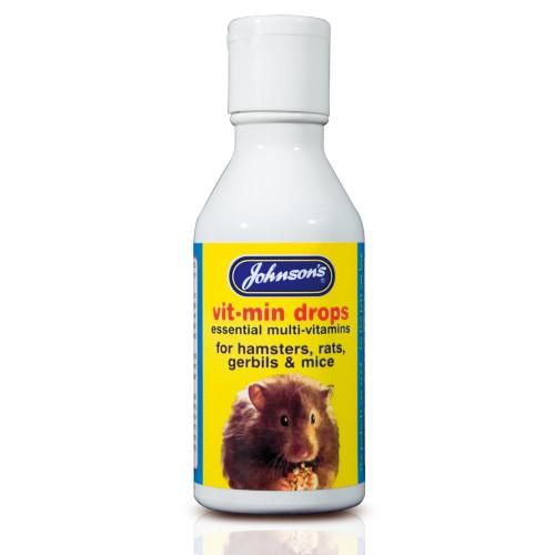 Johnsons Vit Min Drops Small Animal Supplement