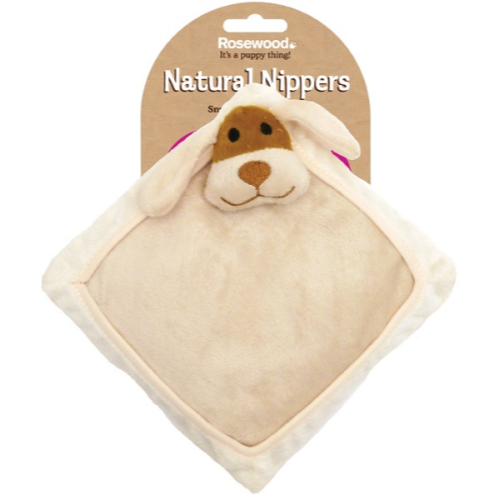 Rosewood Natural Nippers Snuggle Heat Cushion Toy