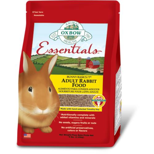 Oxbow Essentials Adult Rabbit Food 4.5kg