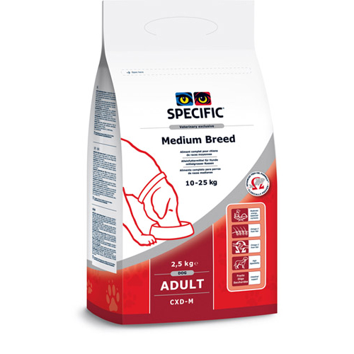 Specific CXD-M Adult Medium Breed Dog Food 4kg