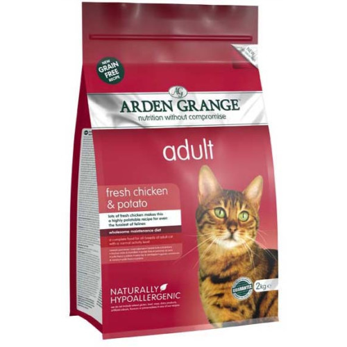 Arden Grange Chicken & Potato Cereal Free Adult Cat Food