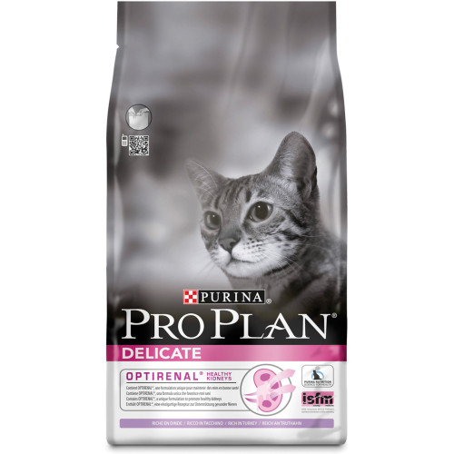 PRO PLAN Delicate Turkey Optirenal Adult Cat Food