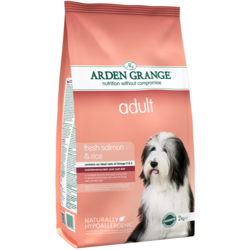 Arden Grange Salmon & Rice Adult Dog Food 12kg