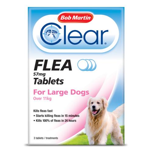 Bob Martin Flea Tablets Large Dogs Over 11kg