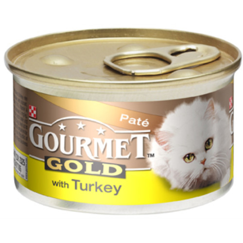 Gourmet Gold Pate with Turkey Cat Food
